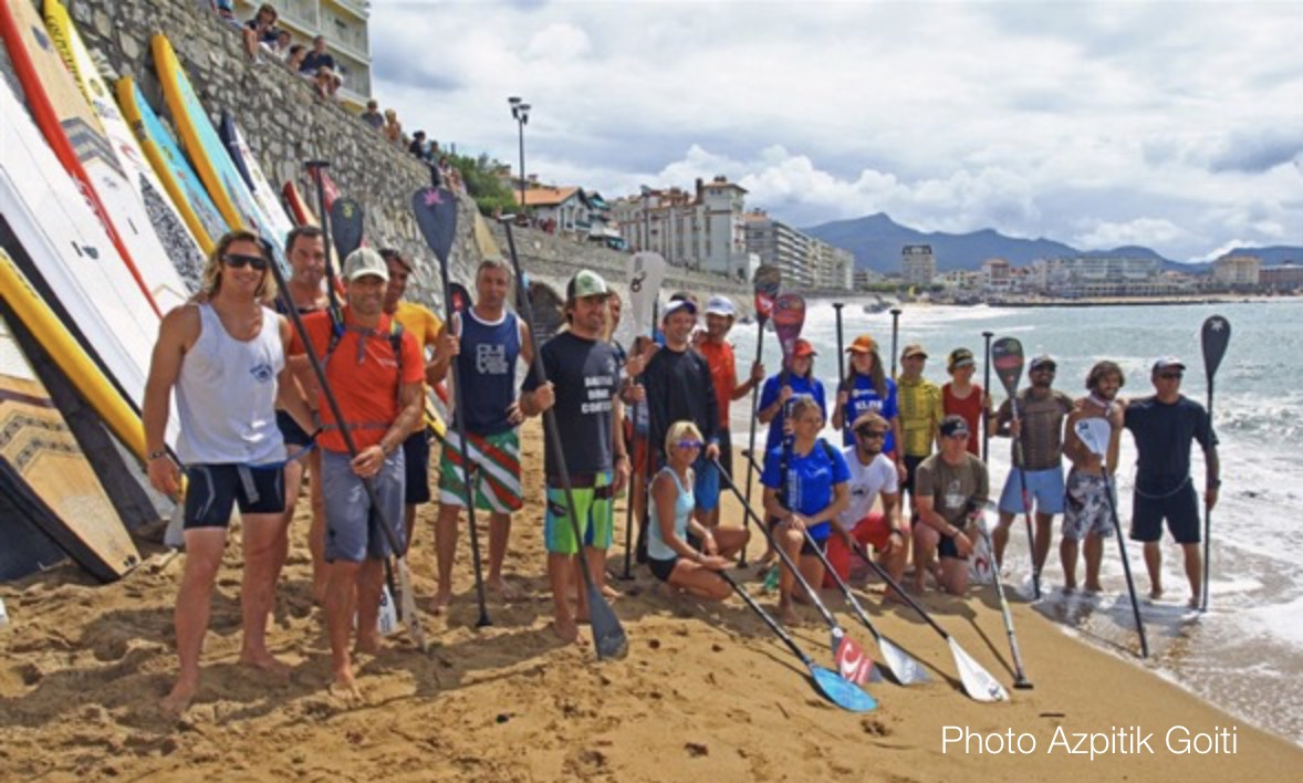 Opération de Team Building sur la Côte Basque