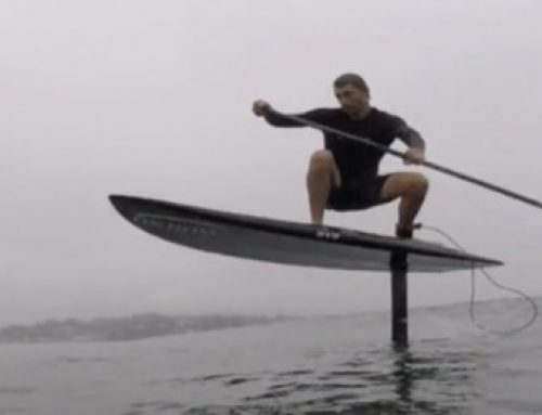 Stand Up Paddle Hydro Foil – session détente
