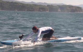 Prone paddleboard