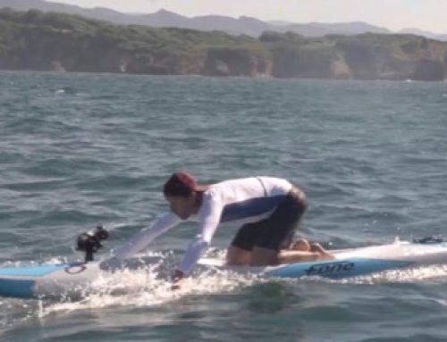 Entraînement Prone paddleboard