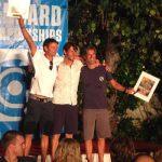 Podium des vainqueurs de la course Molokaï2Oahu 40-49ans