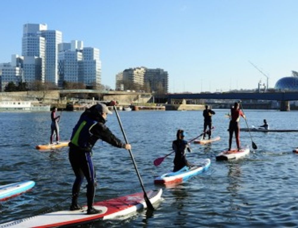 Coaching Stand Up Paddle sur la Seine