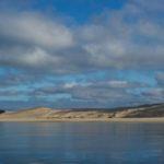 En plein coeur de l'hiver dans un cadre superbe : les passes du bassin d'Arcachon