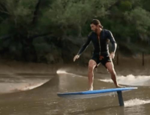 Reportage Thalassa ; surf sur le mascaret