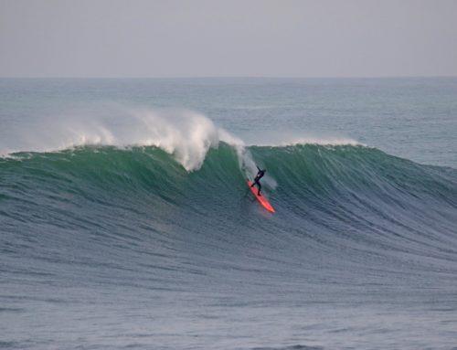 Surf de gros – à la rame