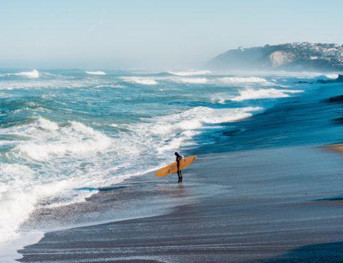 Surf Hivernal sur la Côte Basque